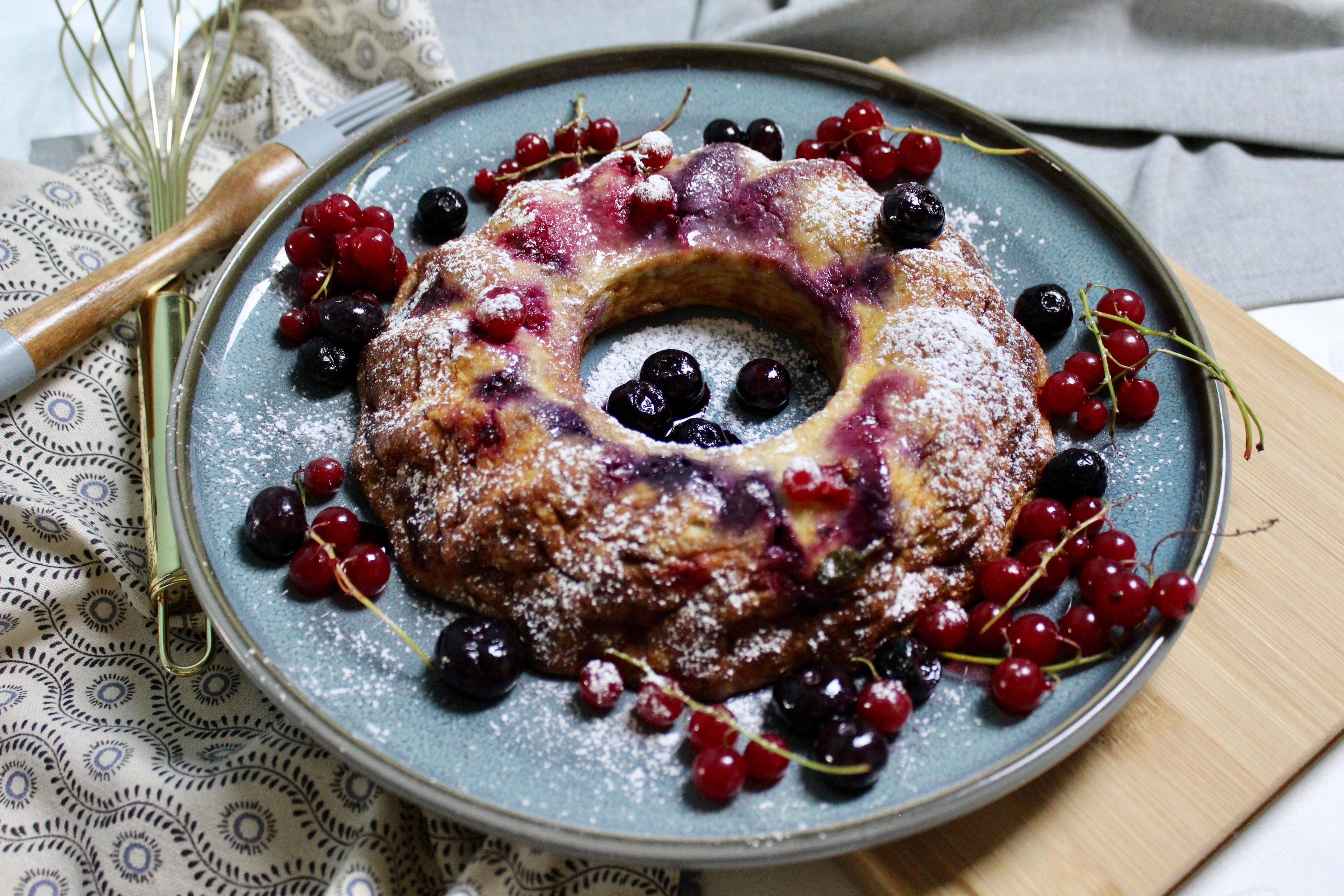 schneller kuchen mit quark