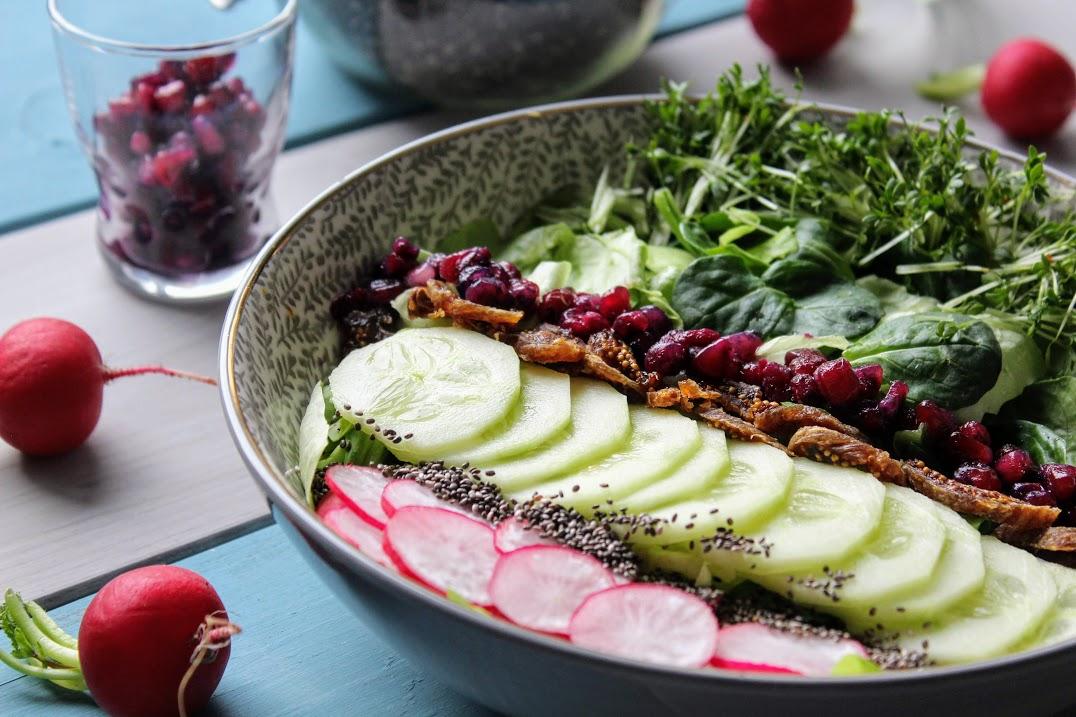 Salat Dressing Essig Öl – gesund & lecker