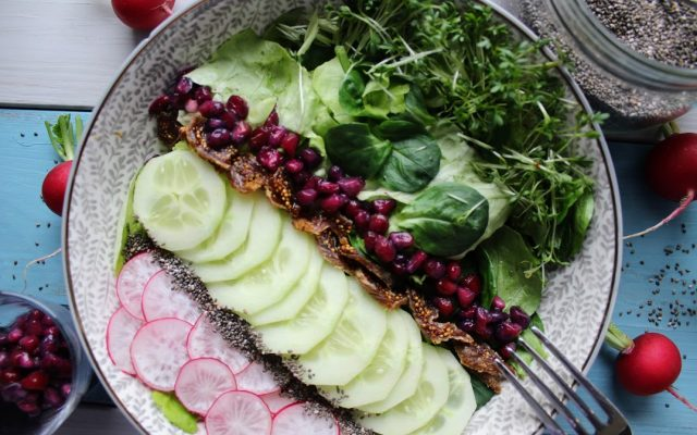 Salat Dressing Essig Öl - gesund & lecker